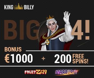 King Billy Bonus 2019